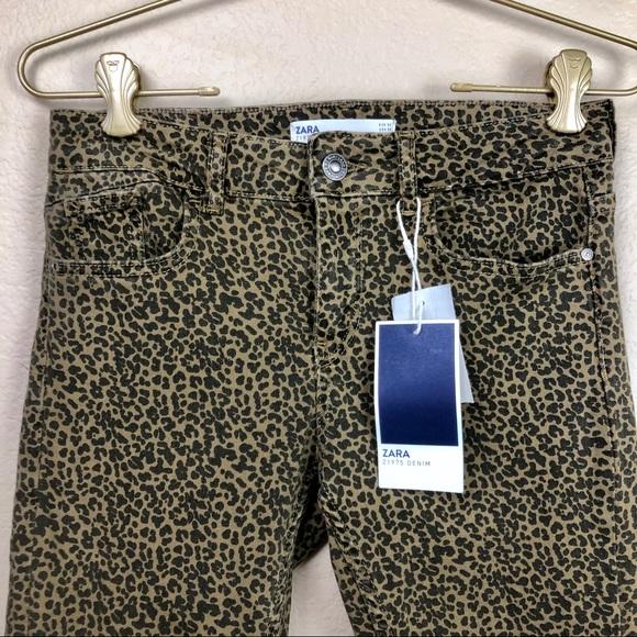 Zara Denim - Zara • Z1975 Animal Print Skinny Jeans